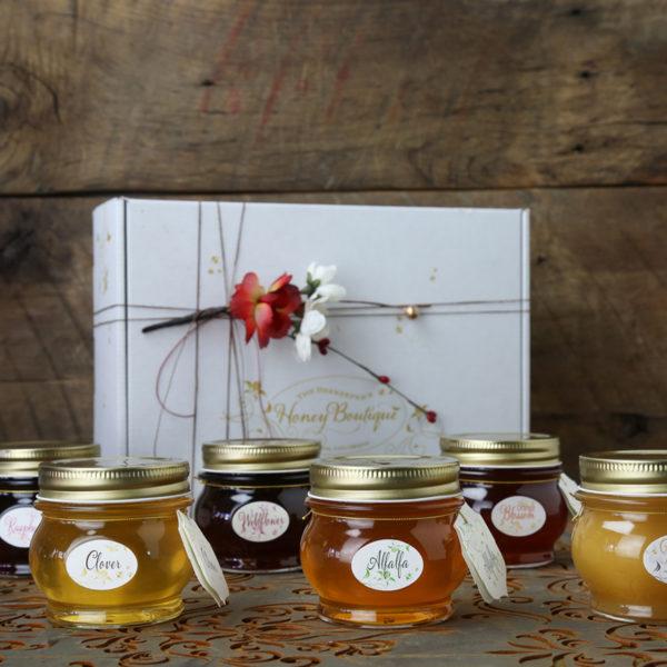 4 Pack Creamed Honey Gift Box 41